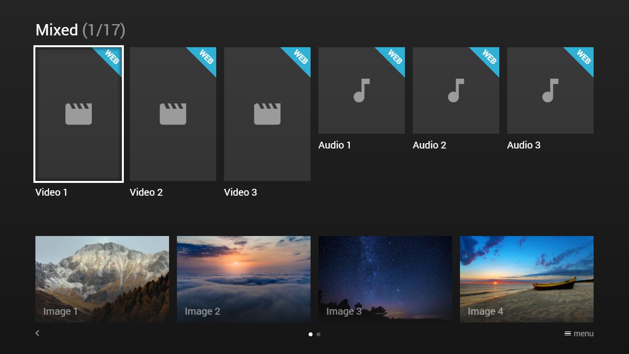 Media Station X 0.1.66 Screen 2