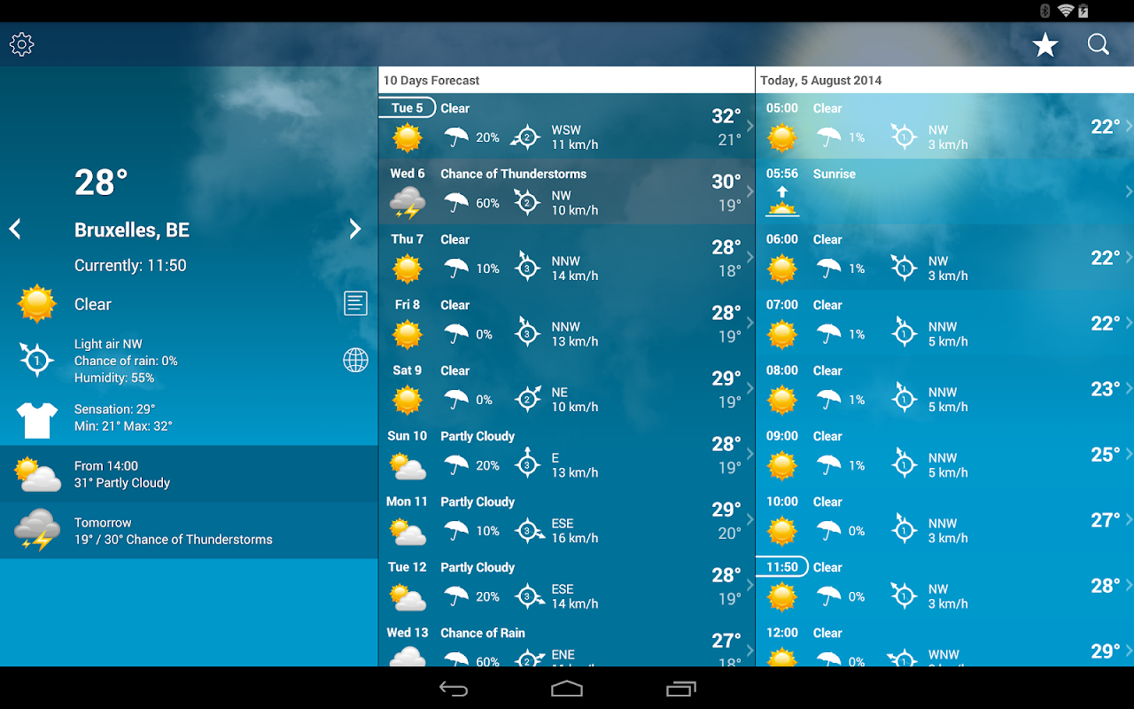 Weather Belgium XL PRO 1.4.3.6-be Screen 3