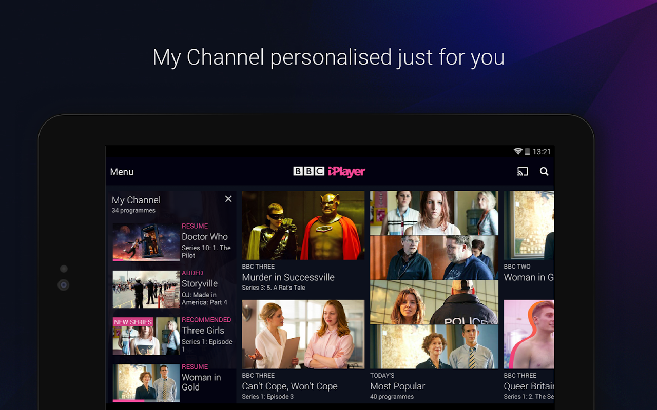 BBC iPlayer 4.38.0.3 Screen 10