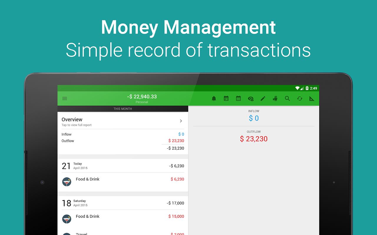 Android Money Lover - Money Manager Screen 8