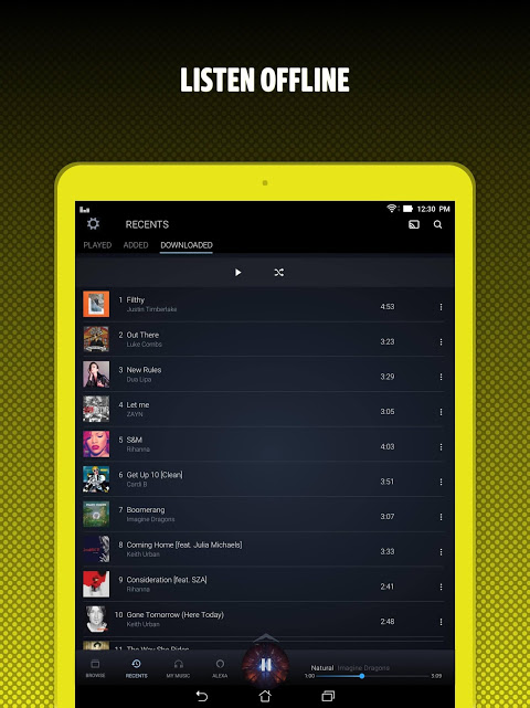 Amazon Music 15.21.5 Screen 10