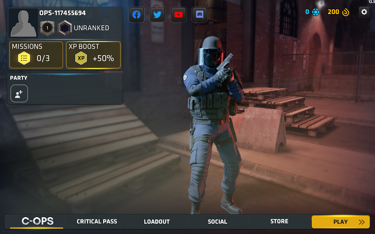 Android Critical Ops Screen 19