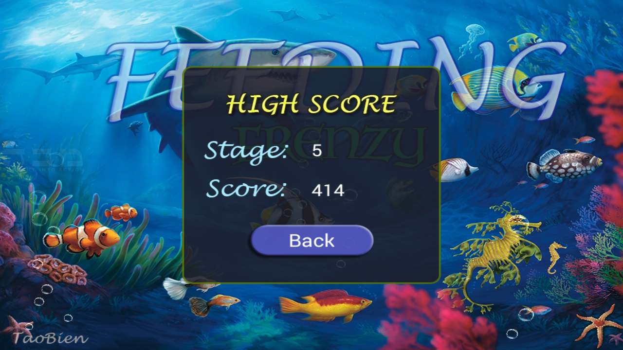 Feeding Frenzy - Eat Fish 1.1 Screen 3