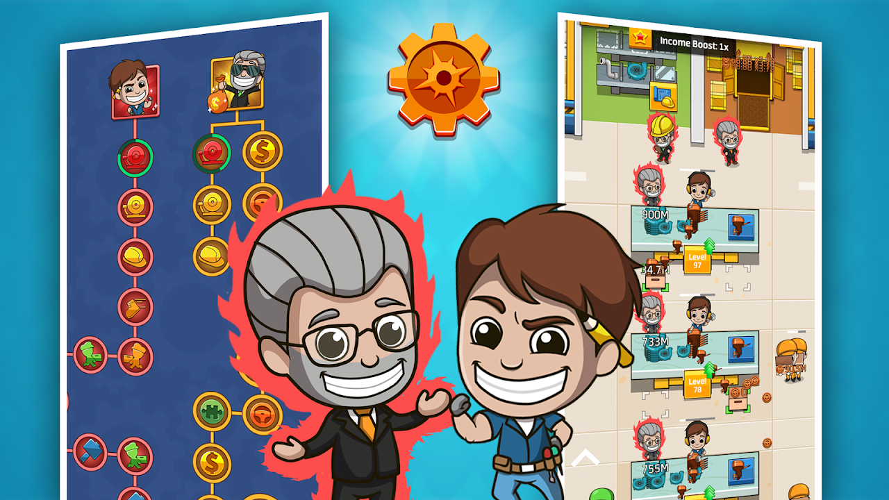 Android Idle Factory Tycoon Screen 4