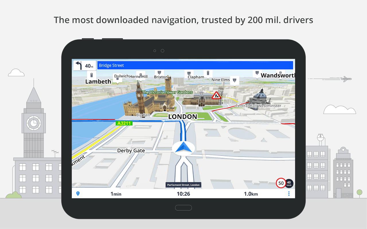 Android Sygic: GPS, Navigation, Offline Maps & Directions Screen 12