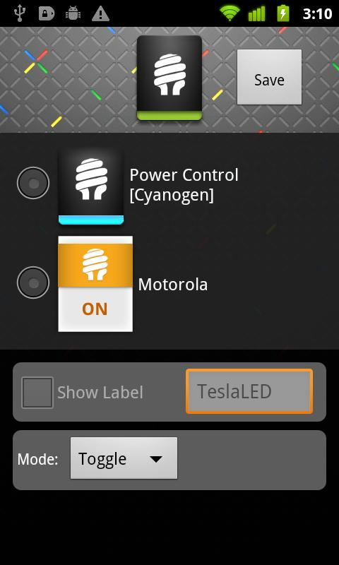 Android TeslaLED Flashlight Donate Screen 3