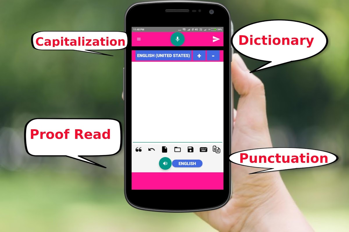 Speech to Text with Proof Reading & Dictionary 1.14 Screen 3
