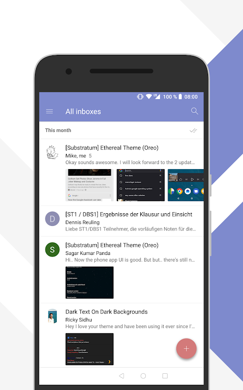Android [Substratum] Outline Theme (Oreo) Screen 3