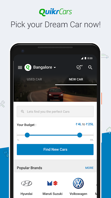 Android Quikr – Search Jobs, Mobiles, Cars, Home Services Screen 5