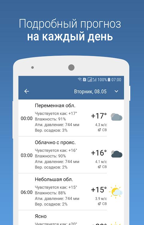 MeteoScope - Точная погода 1.3.7 Screen 2