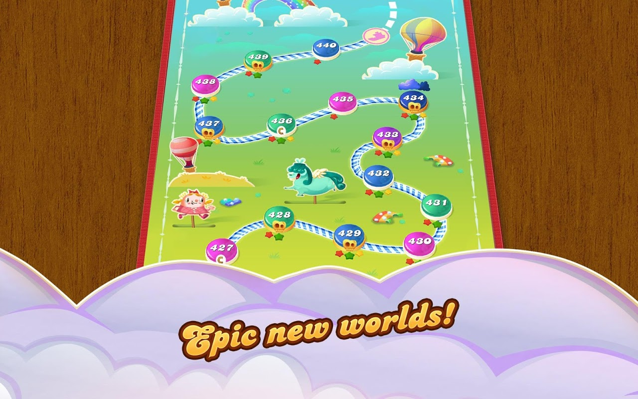 Android Candy Crush Saga Screen 8