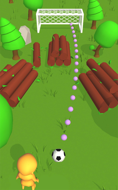 Android Cool Goal! Screen 1