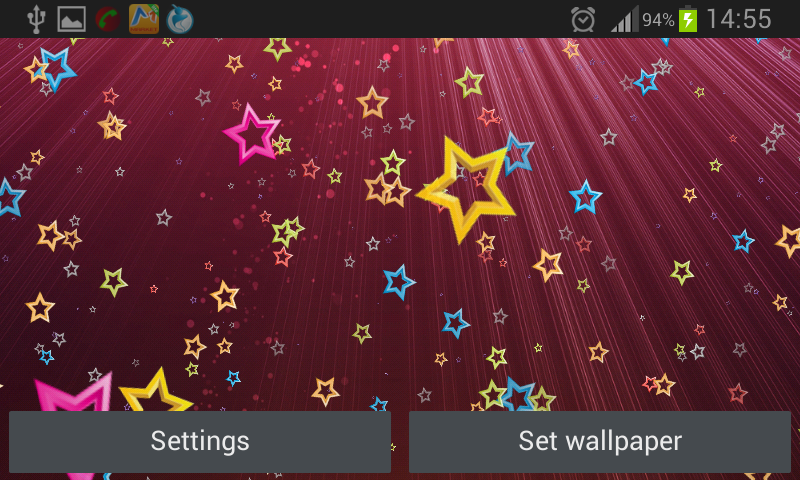 Stars Live Wallpaper 4.0 Screen 3