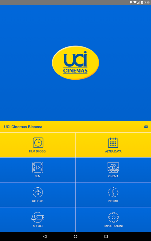 UCI CINEMAS ITALIA 3.1.6 Screen 5