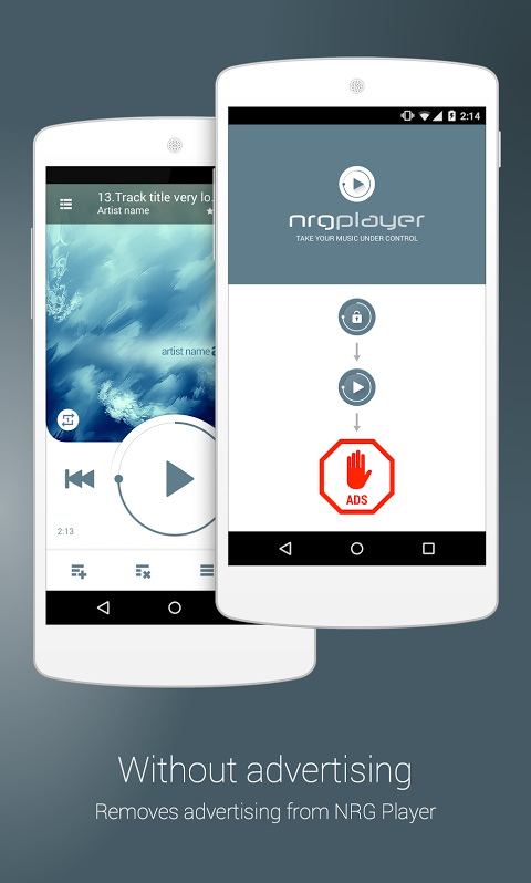 NRG Player Adblocker v2.0.1 Screen 1