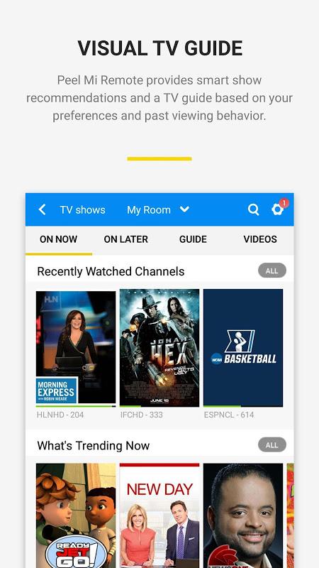 Peel Mi Remote 9.6.3.6-mi Screen 1