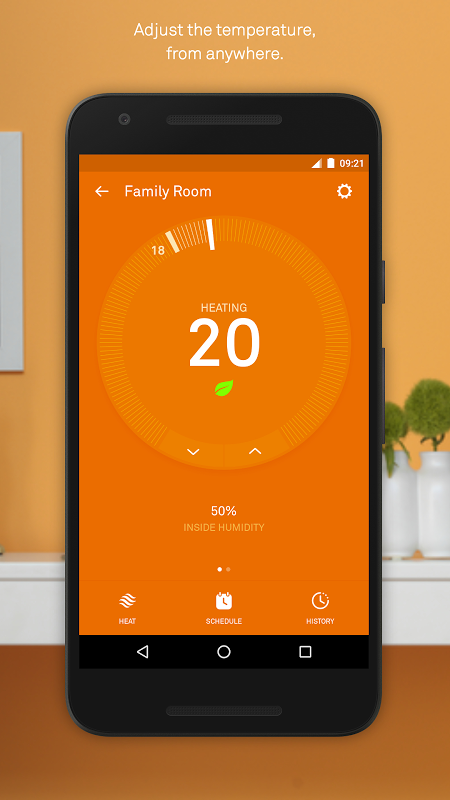 Nest 5.8.0.27 Screen 1