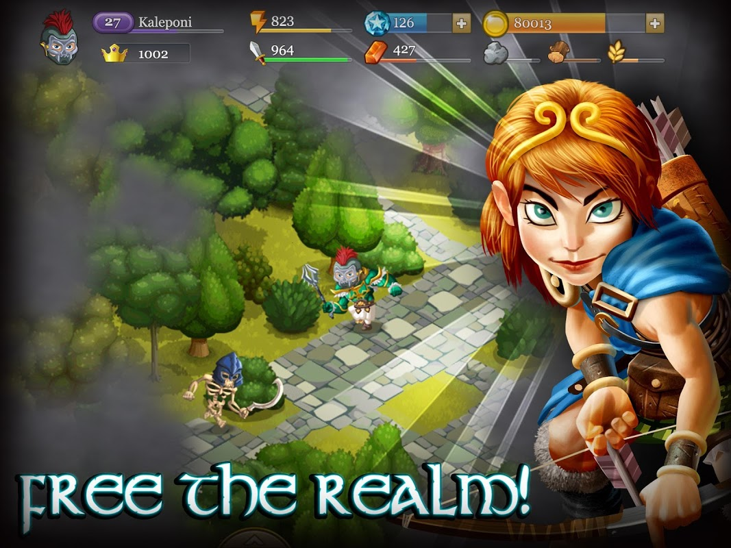 Android Epic Empire: A Hero's Quest Screen 3
