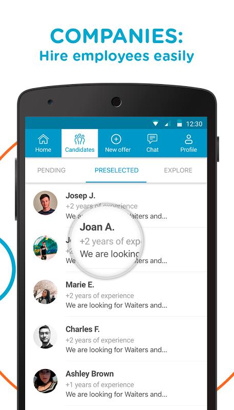 CornerJob - Find job offers 1.4.2 Screen 4