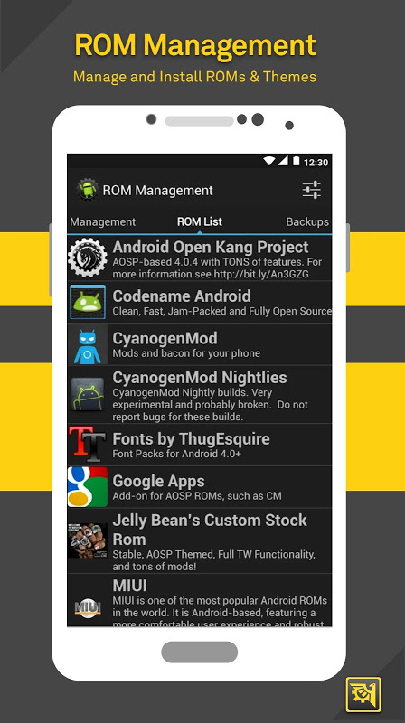 Android ROM Toolbox Pro Screen 5