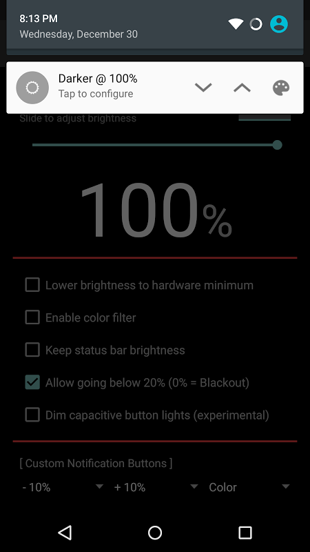 Android Darker Pro Screen 6