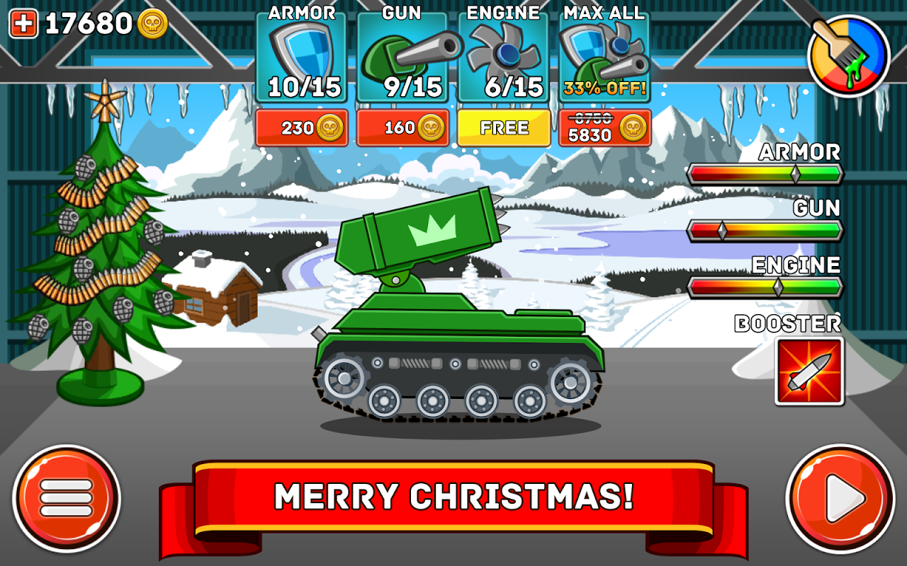 Android Hills of Steel Screen 13