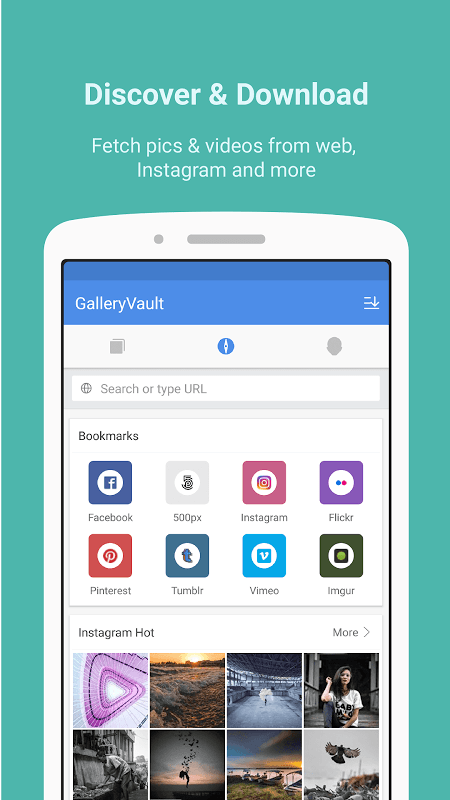 GalleryVault Pro Key - Hide Pictures And Videos 3.0.0 Screen 5