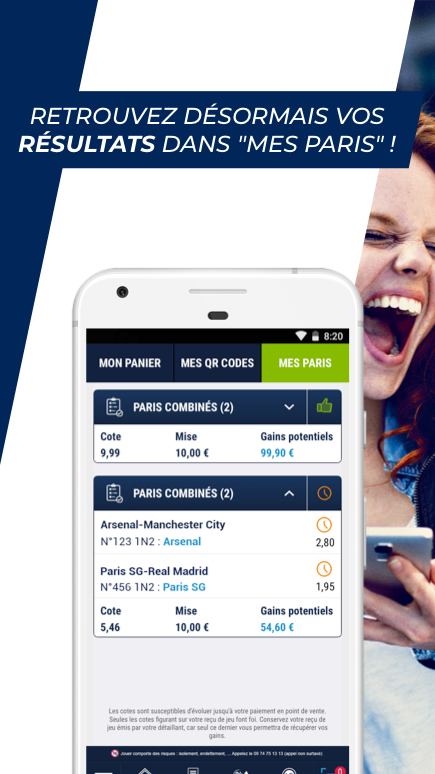 Android ParionsSport Point De Vente® Screen 4