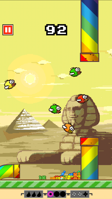 Android Flappy Crush Screen 1