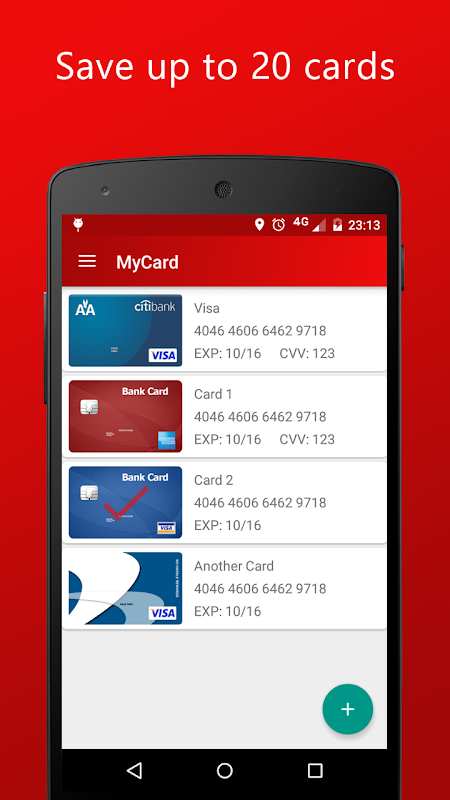 MyCard - NFC Payment 1 18 APK Download by Road Dogs Software