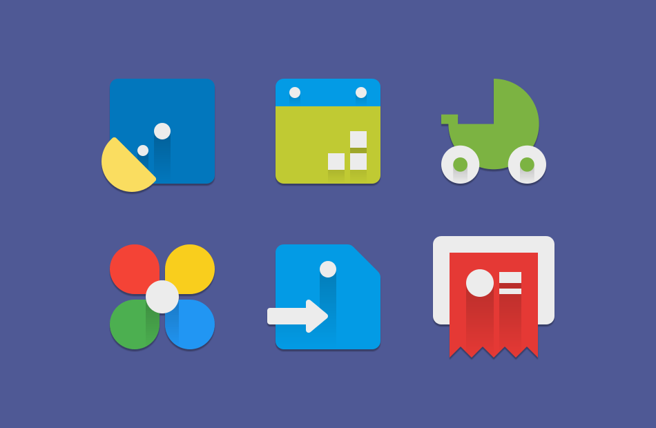 Android MINIMALE Icon Pack Screen 3