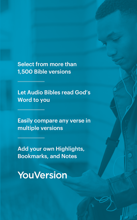 Android Bible: Daily Verse, Study, Audio and Devotions Screen 10