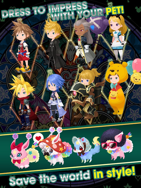 Android KINGDOM HEARTS Union χ[Cross] Screen 12