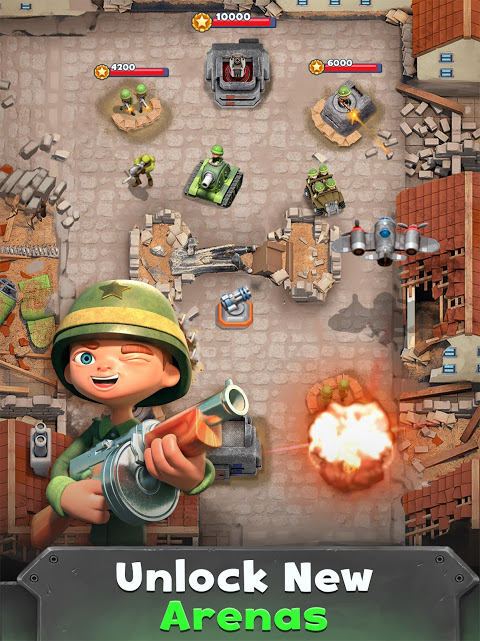 Android War Heroes: Fun Action for Free Screen 2