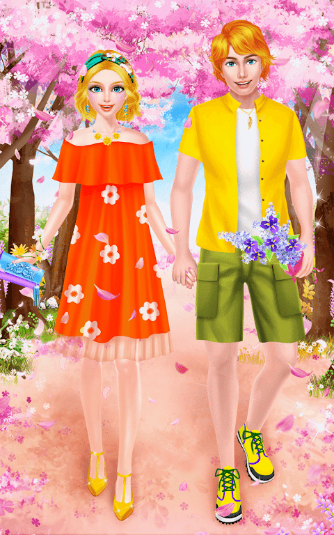 Android Spring Date Flower Spa & Salon Screen 11