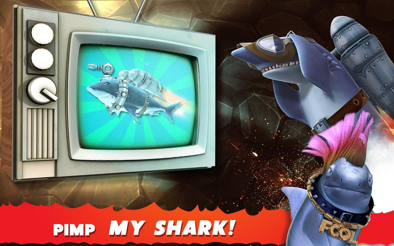 Android Hungry Shark Evolution (Mod) Screen 3