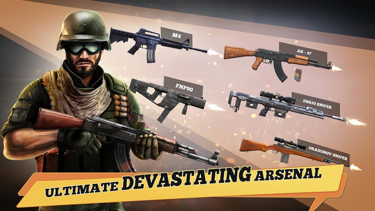Android Yalghaar: Counter Terrorist Shoot - Free FPS Game Screen 3