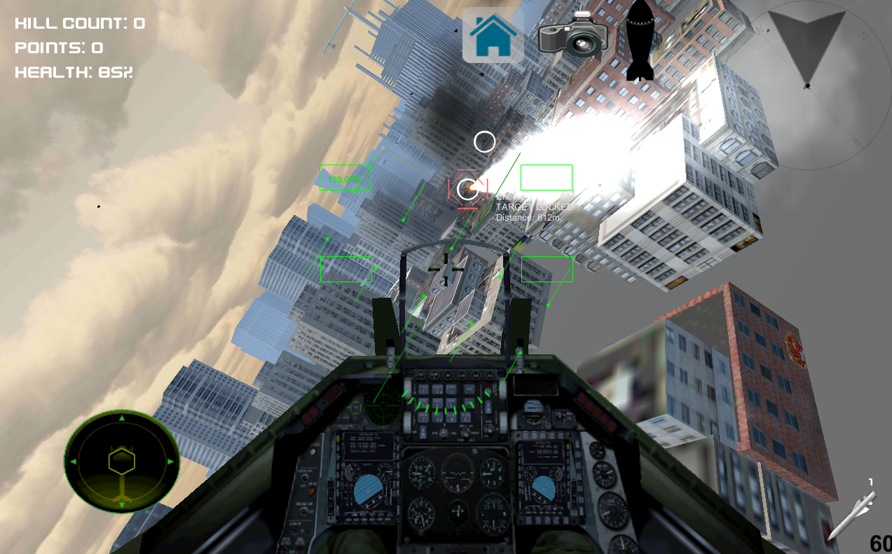 Android Air Crusader - Jet Fighter Screen 3