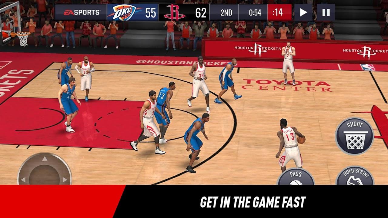 Android NBA LIVE Mobile Basketball Screen 4