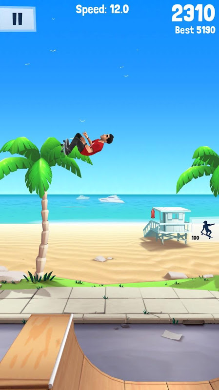 Android Flip Skater Screen 4
