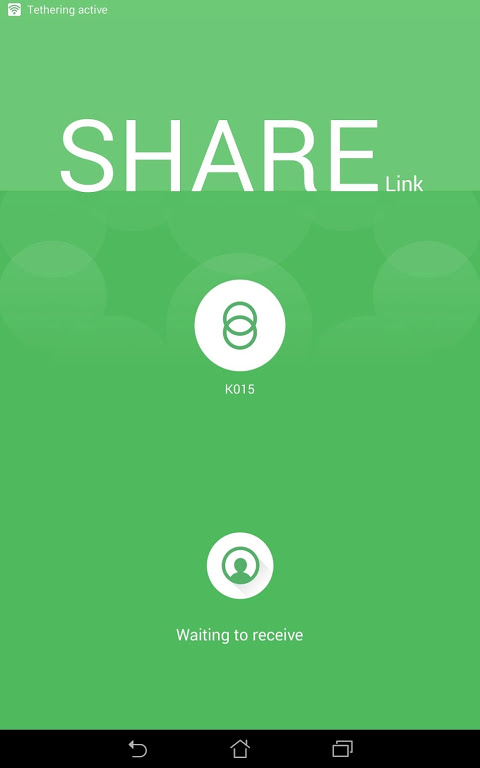 Android Share Link – File Transfer Screen 6