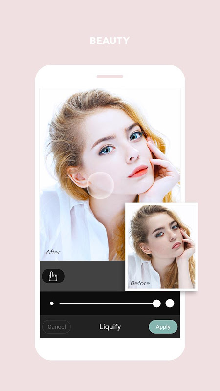 Android Cymera - Photo & Beauty Editor Screen 4