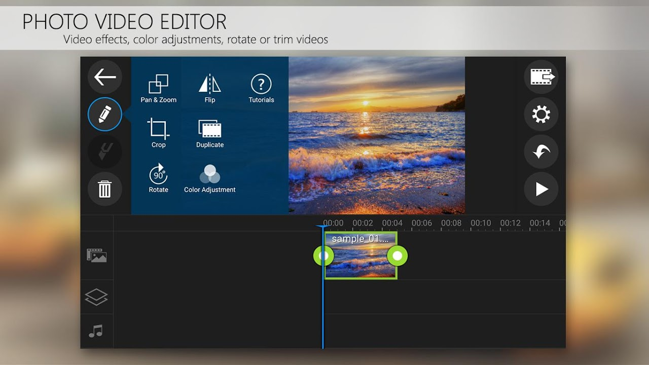 PowerDirector Video Editor App: 4K, Slow Mo & More 4.15.0 Screen 1
