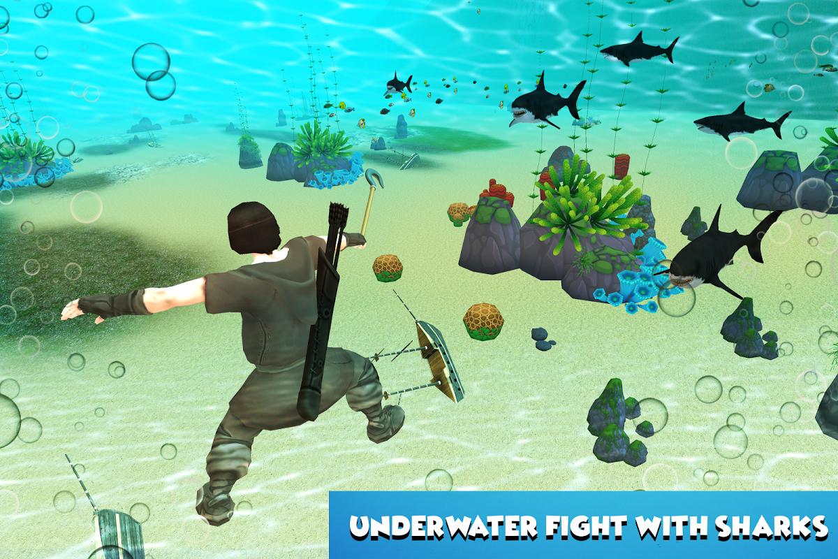 Android Ocean Raft Survival Screen 2