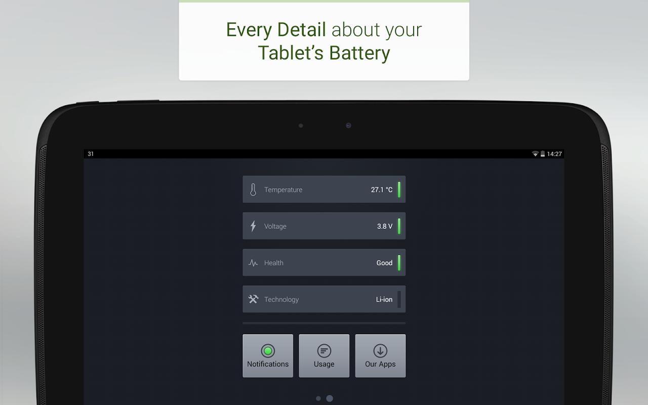 Battery 3.3 Screen 13