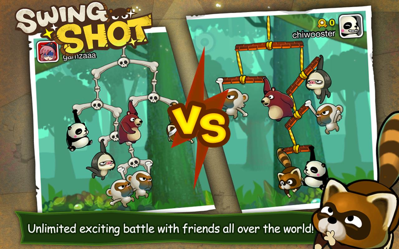Android Swing Shot Screen 2