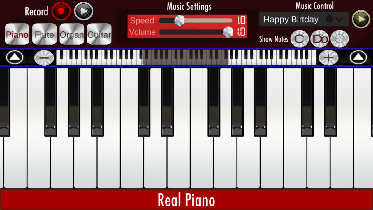 Real Piano 1.9 Screen 6