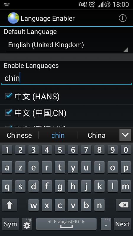 Language Enabler 2 8 4 APK Download by Wanam | Android APK