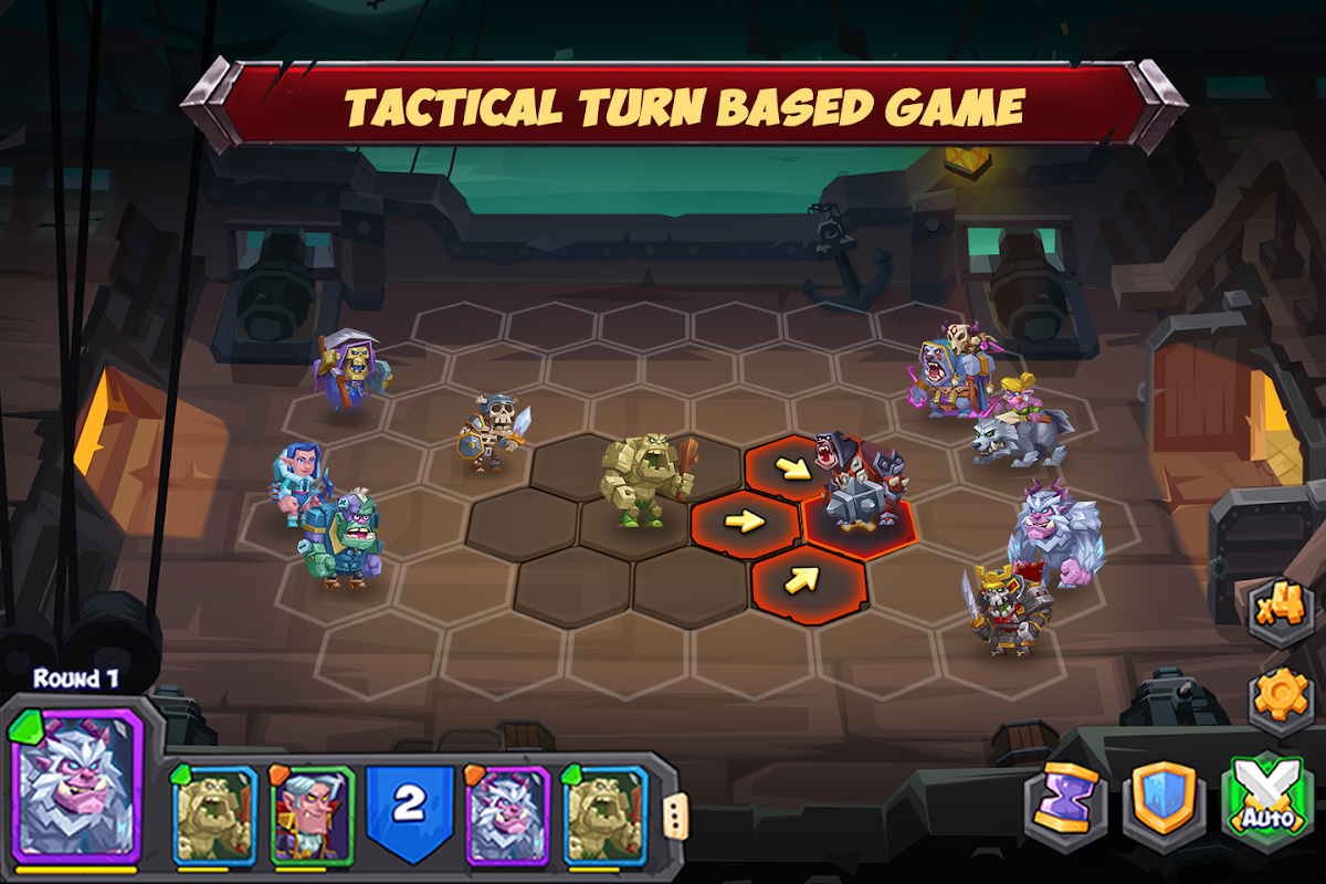 Android Tactical Monsters Rumble Arena -Tactics & Strategy Screen 7
