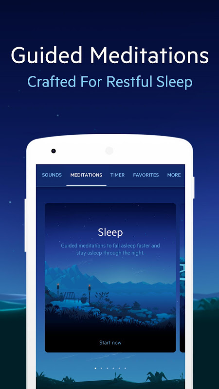 Android Relax Melodies: Sleep Sounds Screen 8